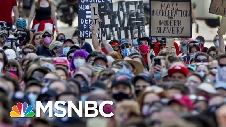 We Are Reaching A Tipping Point, Says BLM Co-Founder | Morning Joe | MSNBC 1