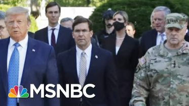 Military Leaders Push Back On Trump's Willingness To Use Them Against Civilians | MSNBC 6