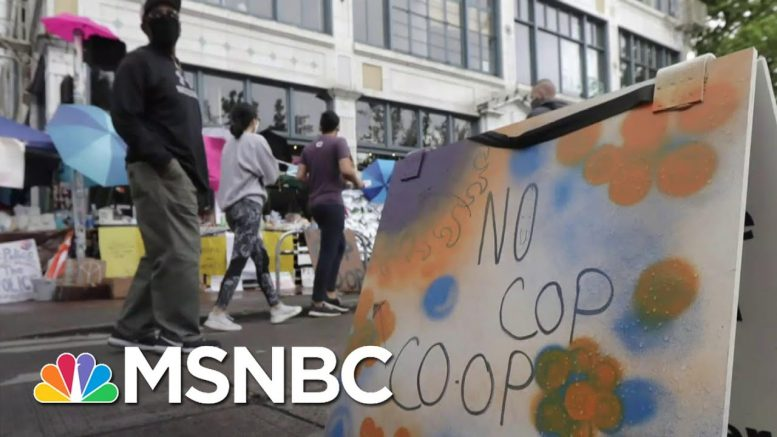 Seattle Mayor Defends Protesters In 'Autonomous Zone' From Trump's Threats | Craig Melvin | MSNBC 1