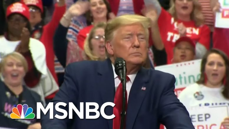 Unmasked: Trump Pushes COVID Waiver As Pence Deletes Controversial Tweet | MSNBC 1