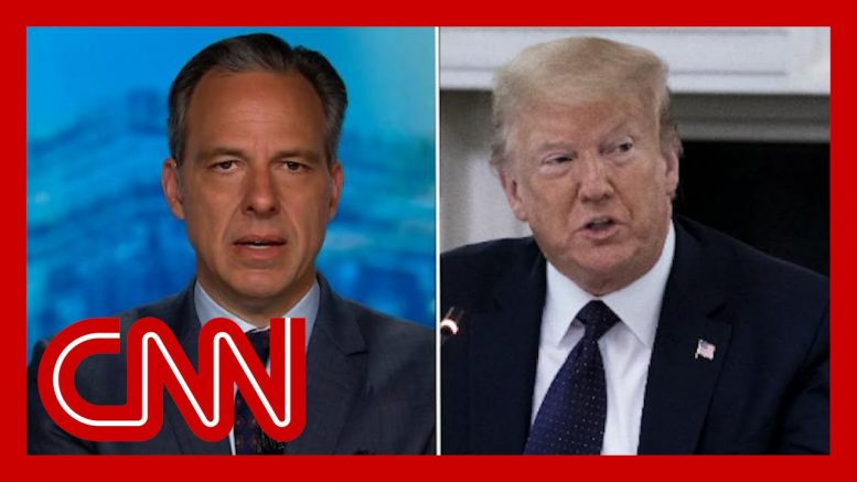 Tapper: Trump standing firm with 'dead, racist losers' 1