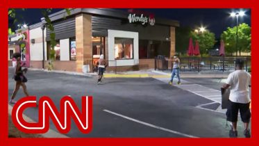 CNN crew harassed and camera broken during protest 6