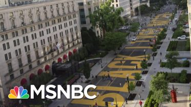 Support For Black Lives Matter Reaches All-Time High | The Last Word | MSNBC 6