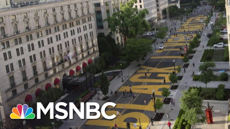 Support For Black Lives Matter Reaches All-Time High | The Last Word | MSNBC 1