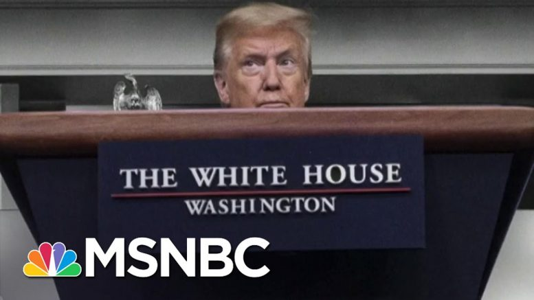Trump Struggles To Deal With Racial Reckoning Happening In America | The 11th Hour | MSNBC 1