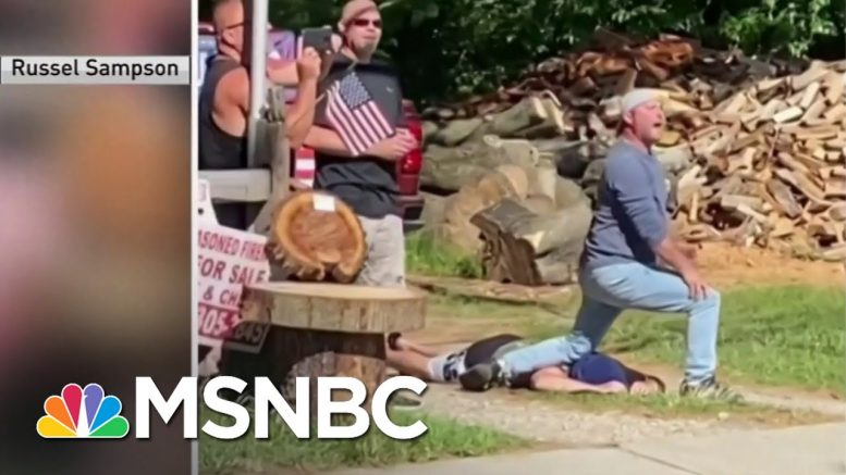 Protesters March In New Jersey After Video Shows White Men Mocking George Floyd's Death | MSNBC 1