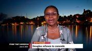 DENZIL DOUGLAS REFUSES TO CONCEDE 5
