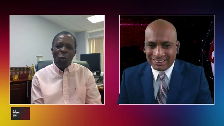 GRENADA PRIME MINISTER on cabinet reshuffle and retirement. 1