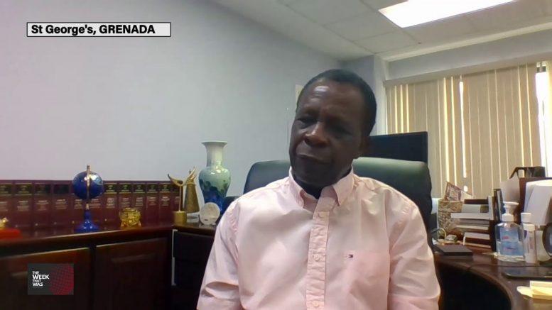 GRENADA'S PRIME MINISTER speaks on Grenada's road back 1