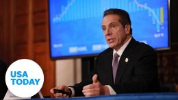 Gov. Andrew Cuomo holds news briefing as New York starts to reopen   USA TODAY 9