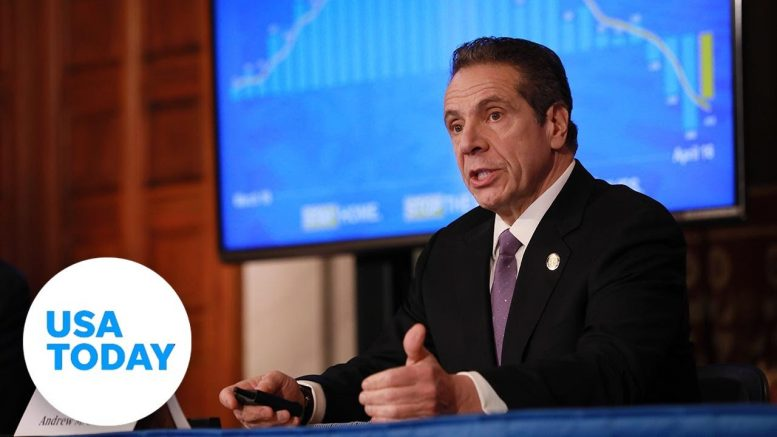 Gov. Andrew Cuomo holds news briefing as New York starts to reopen | USA TODAY 1