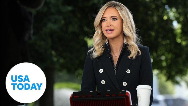 White House Press Secretary Kayleigh McEnany holds briefing | USA TODAY 1