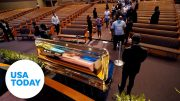 Viewing for George Floyd held in childhood hometown of Houston   USA TODAY 5