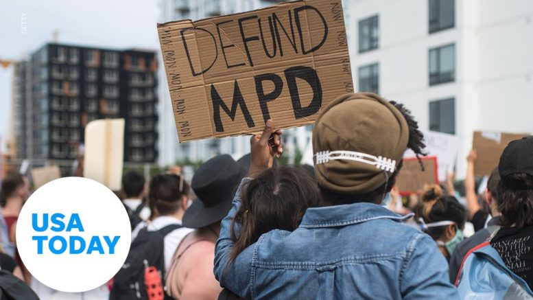 What does 'defund police' mean? | USA TODAY 1