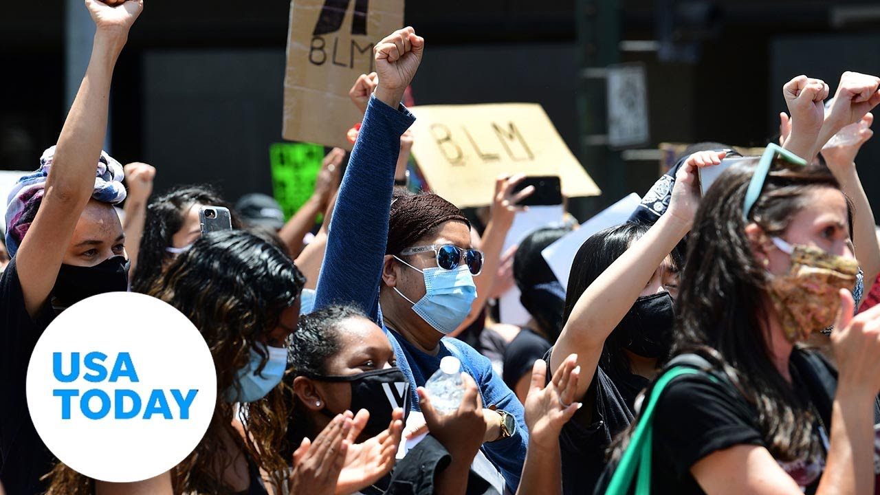 Demonstrations continue across U.S. ahead of George Floyd's funeral in Houston | USA TODAY 2