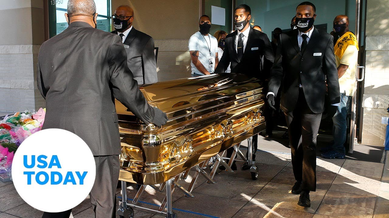 Funeral for George Floyd held in Houston | USA TODAY 1