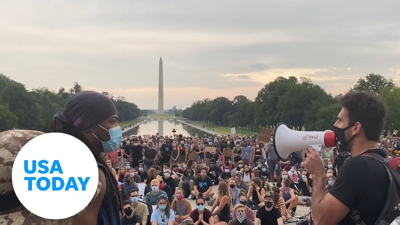 Protesters nationwide raise their voices after George Floyd's death | USA TODAY 1