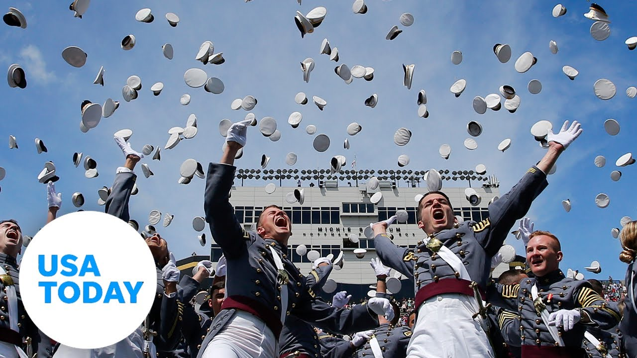President Trump delivers commencement address to US Military Academy   USA TODAY 1