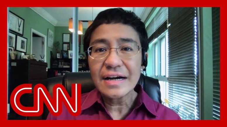 Journalist speaks after being convicted by Philippine government 1