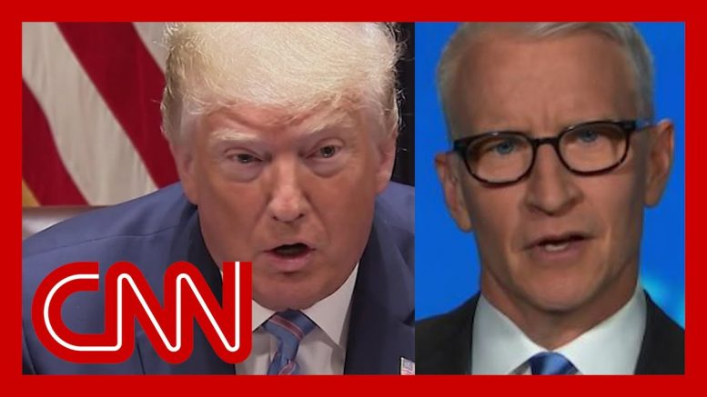 Cooper: Trump believes if you close your eyes, Covid goes away 1