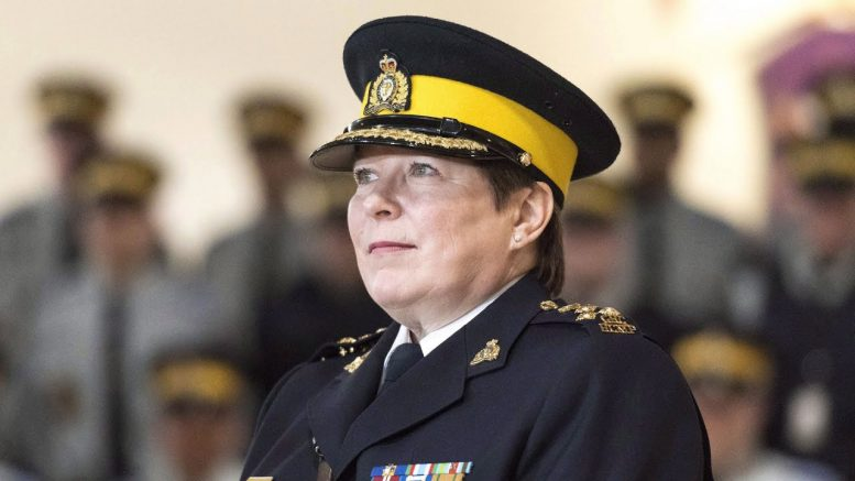 Senator Dyck is calling for the RCMP commissioner to resign or be fired: 'How can we trust her?' 1