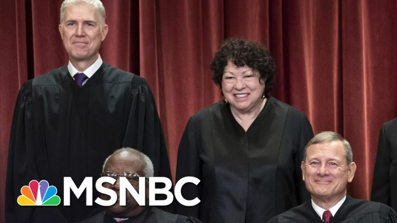 Justices Gorsuch, Robert Join Liberals On Majority LGBTQ Workplace-Bias Ruling | MSNBC 1