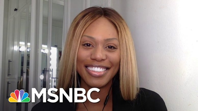 Laverne Cox Reacts To The SC's Landmark Decision On LGBTQ Rights | Andrea Mitchell | MSNBC 1