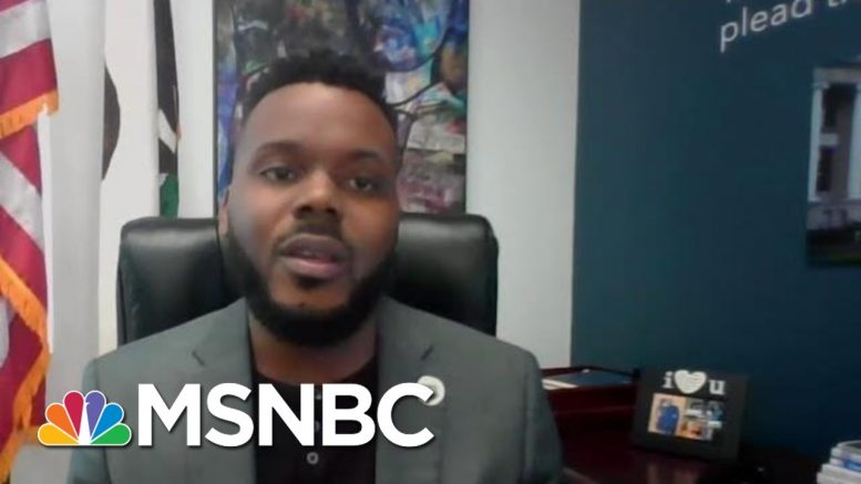 Stockton Mayor Michael Tubbs Calls For Addressing 'The Violence Of Poverty' | MTP Daily | MSNBC 1