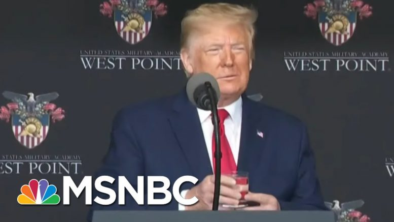 Trump's West Point Appearance, Defensive Tweets Raise Questions About His Health | All In | MSNBC 1