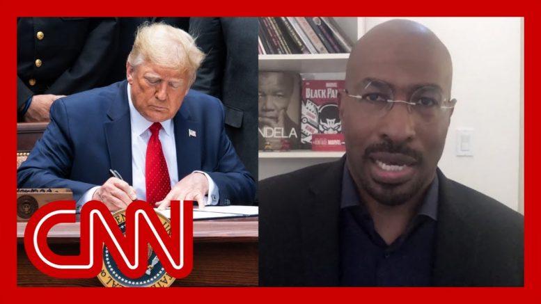 'We are winning': Van Jones responds to Trump's executive order 1