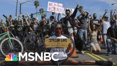 Color Of Change Co-Chair: Protesters See A 'New America Coming'   The Last Word   MSNBC 6