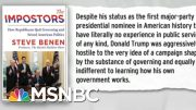 Trump Indifference To Governing A Symptom Of Post-Policy GOP | Rachel Maddow | MSNBC 3