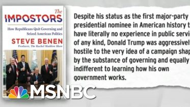 Trump Indifference To Governing A Symptom Of Post-Policy GOP | Rachel Maddow | MSNBC 6