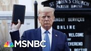 Episcopal Bishop 'Deeply Offended' By Trump Using Bible As A 'Prop' | The 11th Hour | MSNBC 5