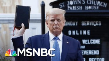 Episcopal Bishop 'Deeply Offended' By Trump Using Bible As A 'Prop' | The 11th Hour | MSNBC 6