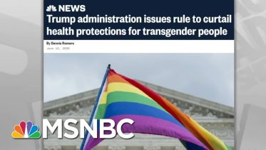 Supreme Court: An Employer Who Fires Someone For Being LGBTQ 'Defies The Law' - Day That Was | MSNBC 6