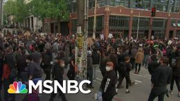 Peaceful Protests In Seattle As Gov. Jay Inslee Blasts Trump | The 11th Hour | MSNBC 2