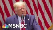 Trump Announces Order For Police To Adopt 'Highest Professional Standards' | MSNBC 2
