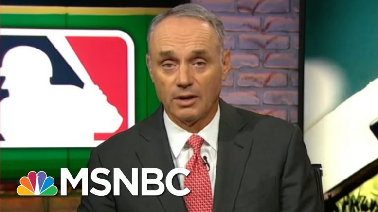 MLB Commissioner Says He's 'Not Confident' About Season | MSNBC 1