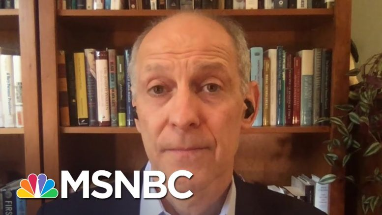 Dr. Zeke Emanuel Says Virus Deaths Could 'Reliably' Double By Year's End   Andrea Mitchell   MSNBC 1