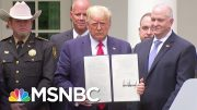 Trump Uses Denial & Distraction As His Strategy For The Crises Facing The Country | Deadline | MSNBC 5