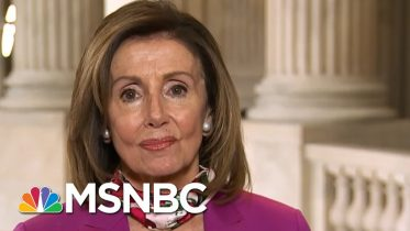 Speaker Pelosi Says Trump's Executive Order Fell 'Sadly And Seriously Short' | Deadline | MSNBC 6