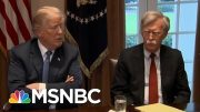 Justice Dept. Sues John Bolton To Stop Publication Of His Book | MTP Daily | MSNBC 5