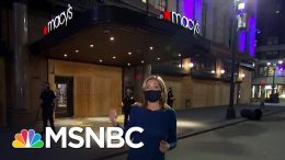 New York Police Make Arrests As Looters Hit Iconic Macy's Store | The 11th Hour | MSNBC 2