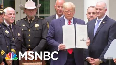 How Black Lives Matter Effectively Pushed Trump On Policing Reform | MSNBC 10