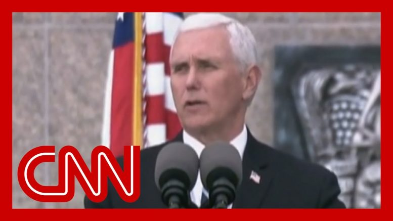 Pence tries to declare coronavirus over 1