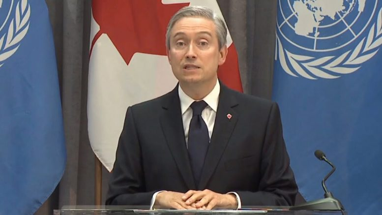 Champagne says Canada proud of campaign after losing bid for Security Council seat 1