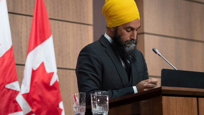 NDP Leader Jagmeet Singh speaks on being removed from the House 1