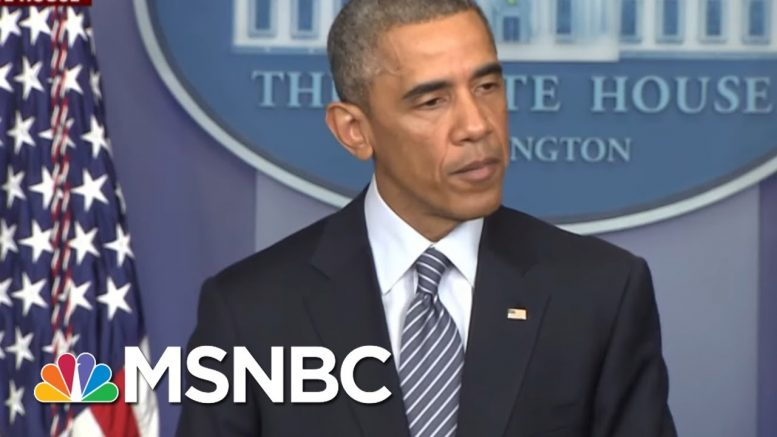Trump Falsely Claims Obama WH Didn't Reform Policing | Morning Joe | MSNBC 1
