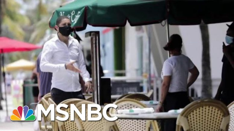 Infection Rates, Hospitalizations Rise As States Begin Reopening | Morning Joe | MSNBC 1